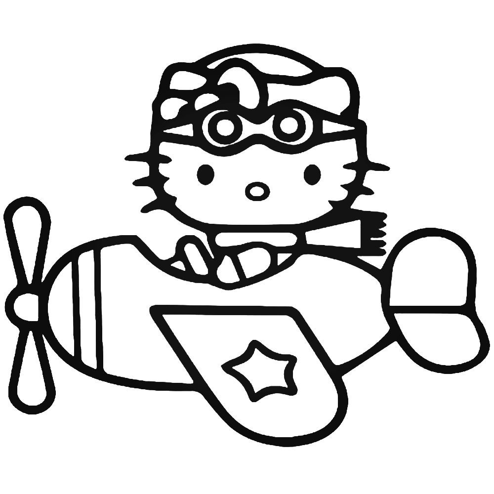 hello kitty airplane coloring page corsair airplane coloring pages below is a collection of coloring hello kitty page airplane