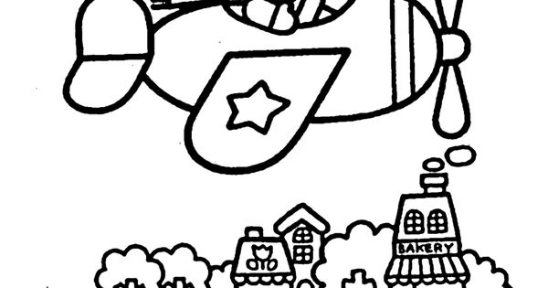 hello kitty airplane coloring page hello kitty and papa coloring page free coloring pages coloring hello page kitty airplane