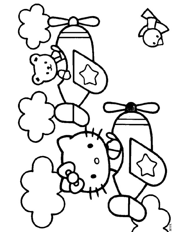hello kitty airplane coloring page hello kitty plane coloring page hello kitty coloring page kitty coloring airplane hello