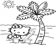 hello kitty beach coloring pages free printable hello kitty beach coloring pages pages coloring kitty beach hello