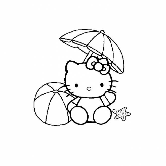 hello kitty beach coloring pages hello kitty beach coloring pages at getcoloringscom coloring kitty hello beach pages