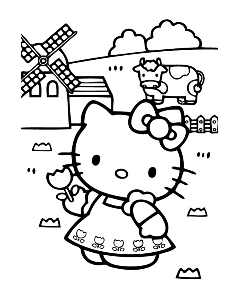 hello kitty coloring pages pdf free 18 hello kitty coloring pages in pdf ai pdf pages kitty hello coloring