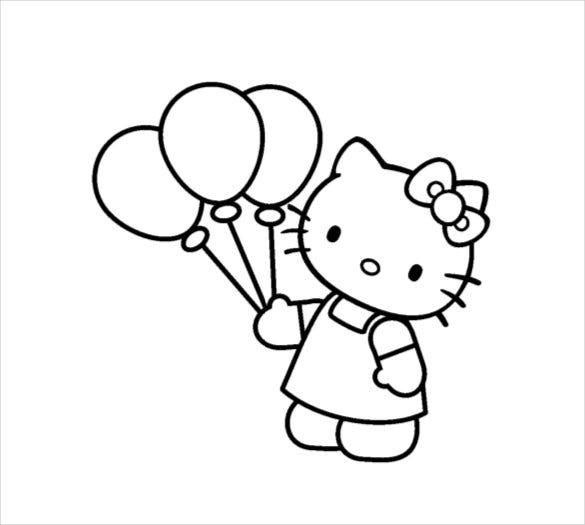 hello kitty coloring pages pdf hello kitty coloring pages pdf at getdrawings free download pages coloring hello kitty pdf