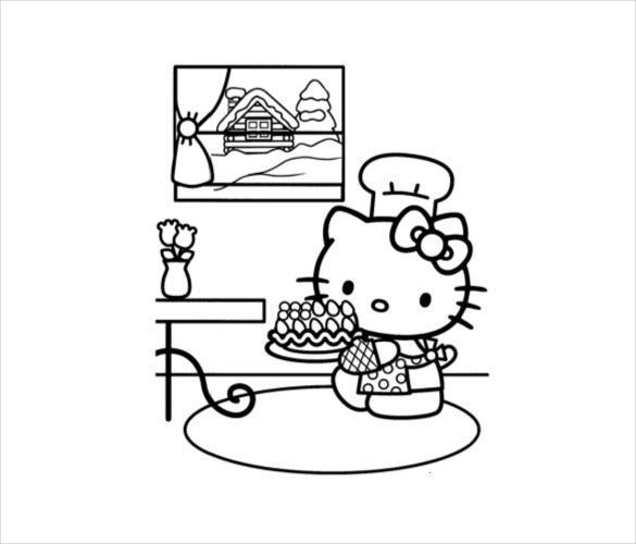 hello kitty coloring pages pdf hello kitty coloring pages pdf coloring home coloring pdf hello kitty pages