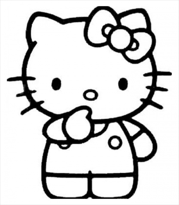 hello kitty coloring pages pdf hello kitty coloring pages pdf coloring home pdf coloring kitty hello pages