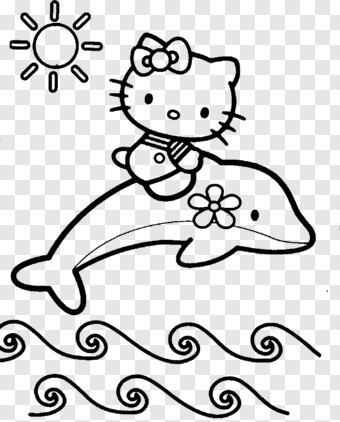 hello kitty dolphin coloring pages hello kitty coloring page hello kitty colouring pages dolphin hello kitty pages coloring