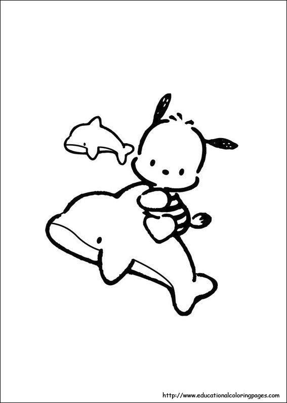 hello kitty dolphin coloring pages idea by hazel her on kitty hello hello kitty coloring dolphin hello pages kitty