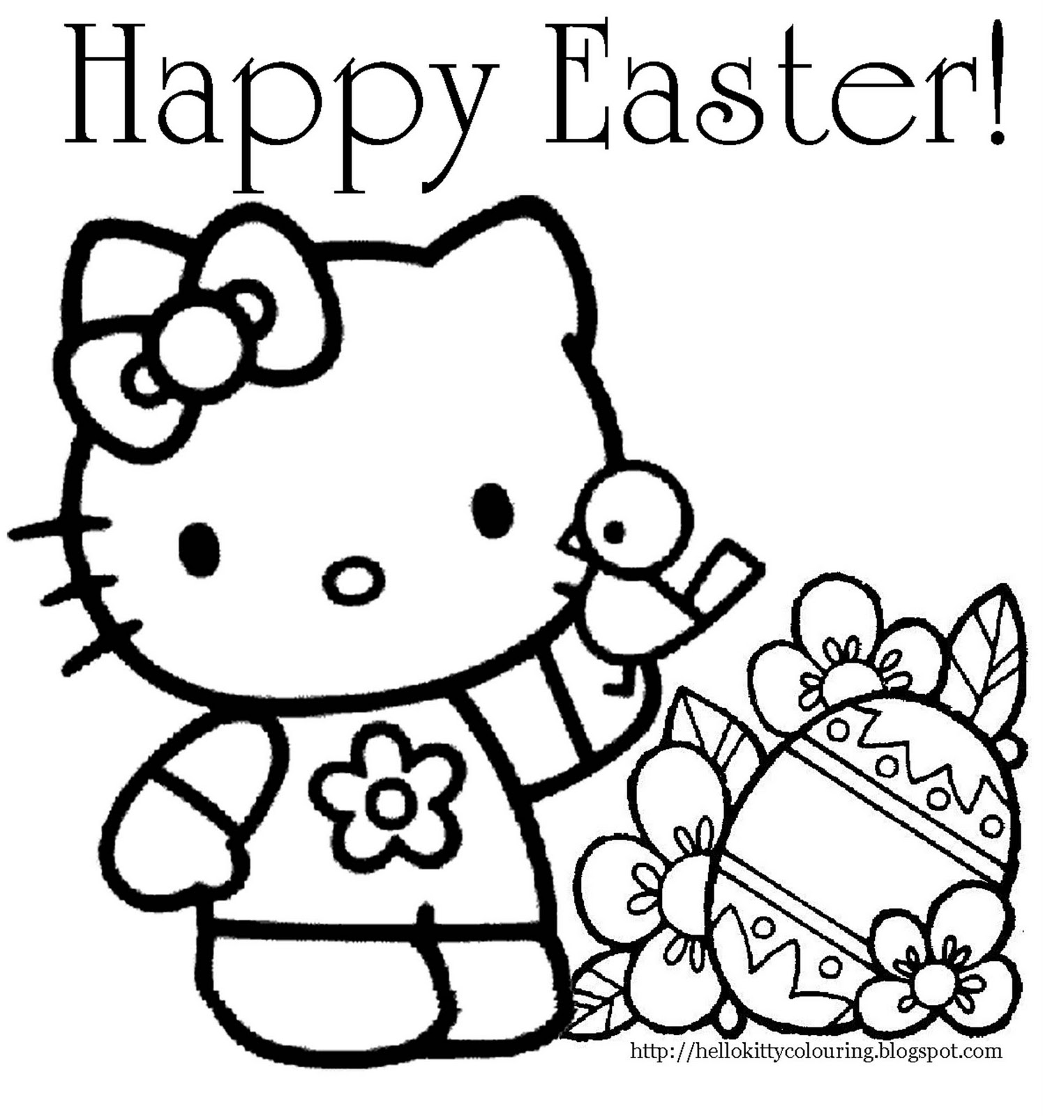 hello kitty easter coloring pages hello kitty easter bunny coloring page free coloring kitty coloring pages easter hello