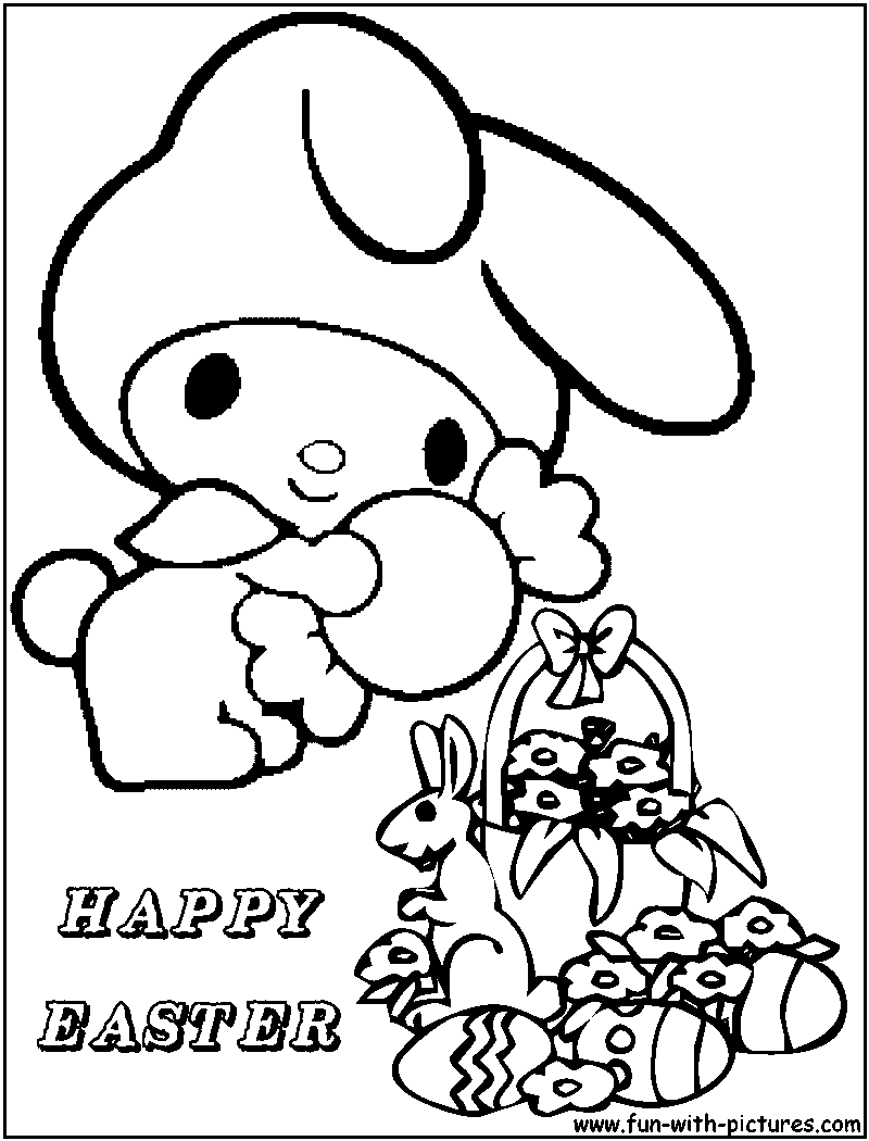 hello kitty easter coloring pages hello kitty with easter egg coloring page free coloring easter coloring pages hello kitty