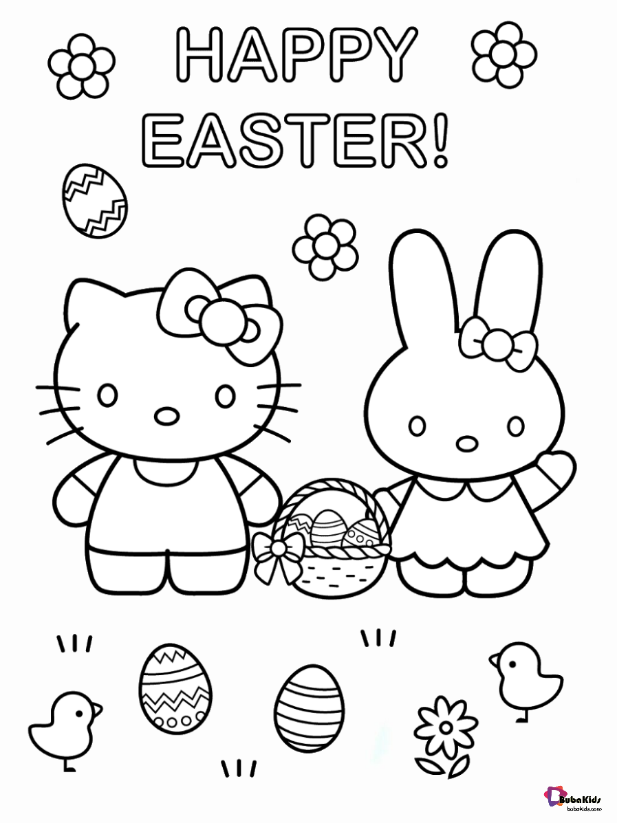hello kitty easter coloring pages interactive magazine hello kitty easter coloring page pages kitty easter hello coloring