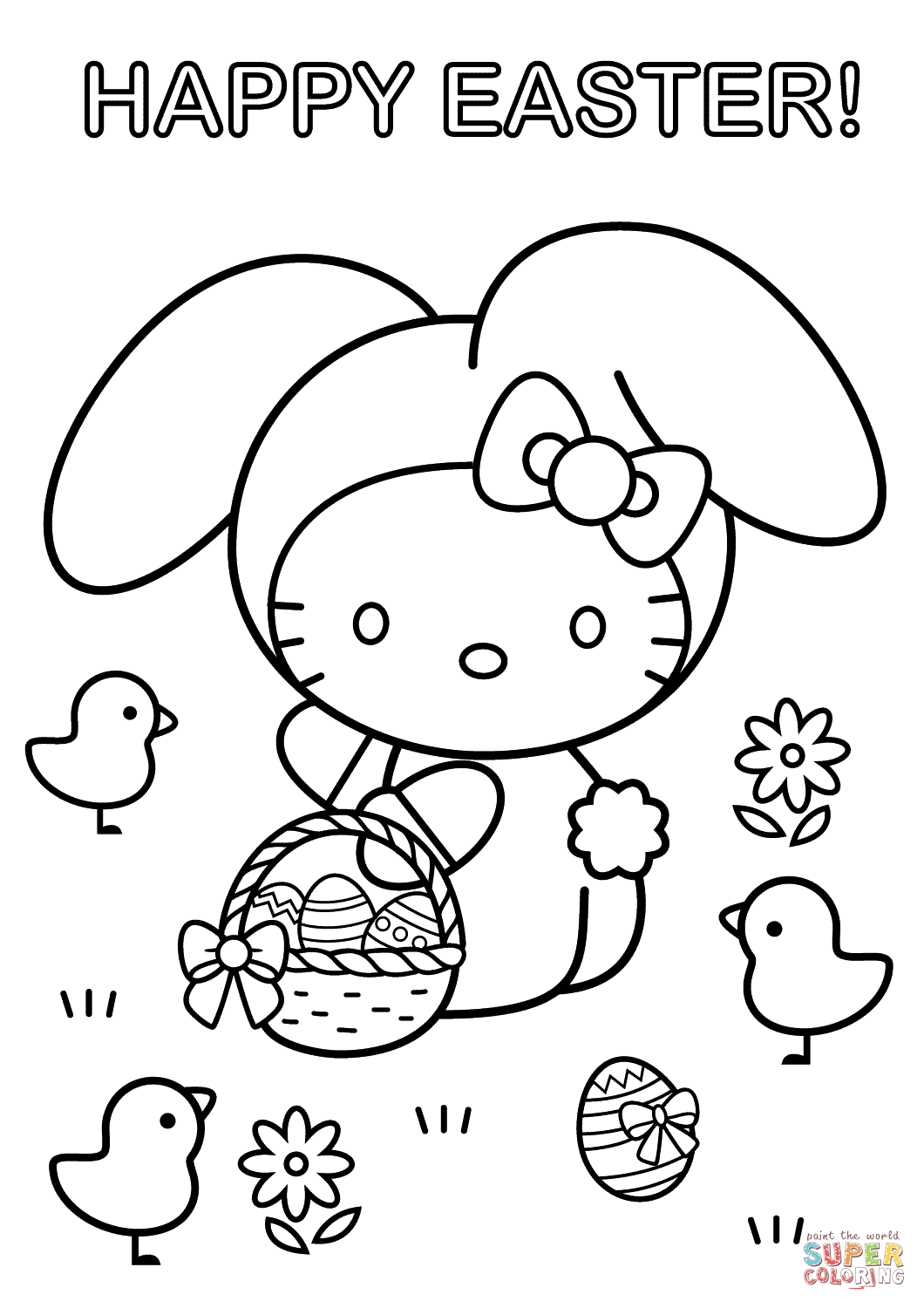 hello kitty easter coloring pages printable easter egg coloring pages for kids cool2bkids kitty coloring hello easter pages