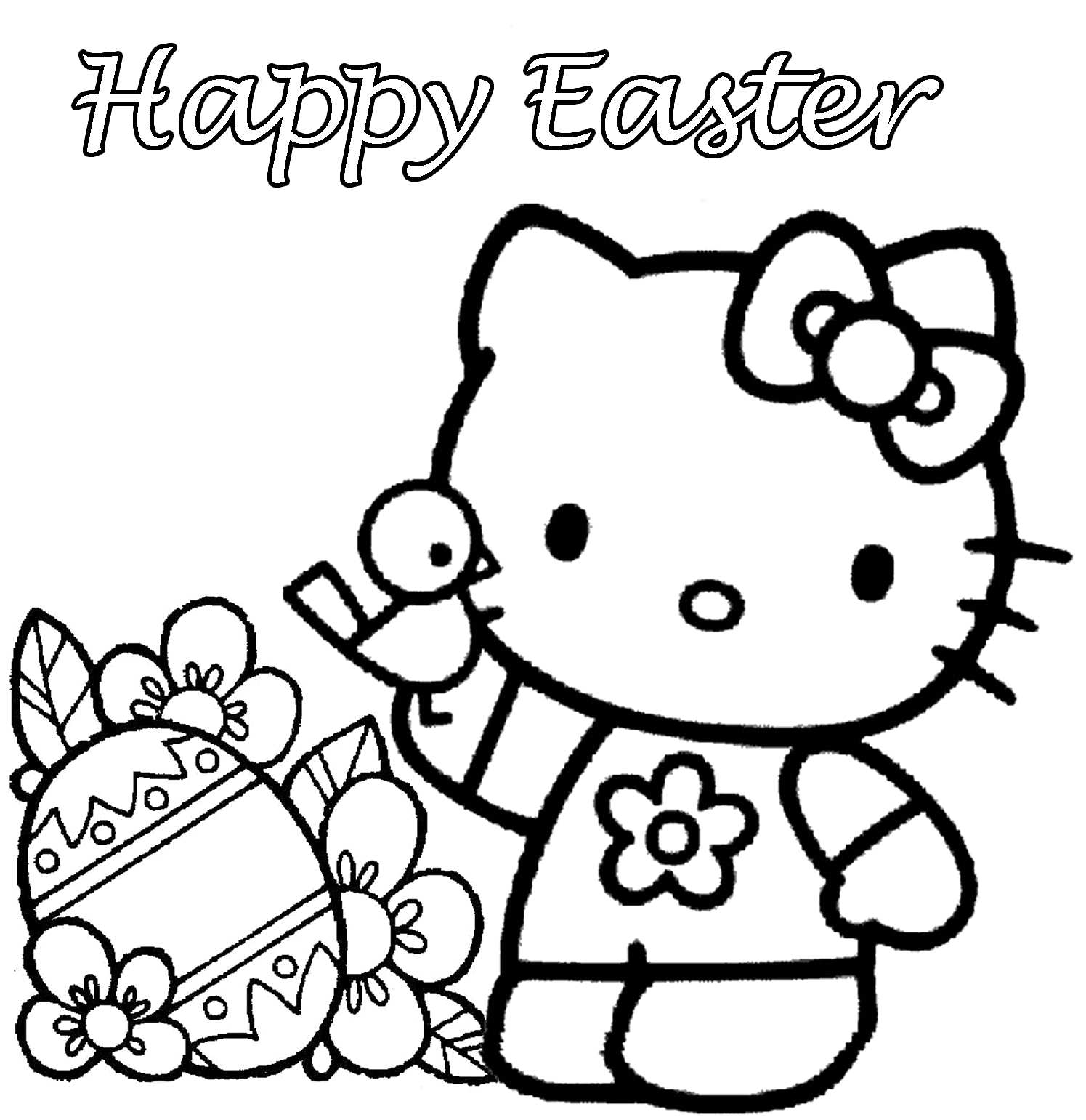 hello kitty easter coloring pages the ideal picture easter coloring books specific cara pages easter kitty coloring hello