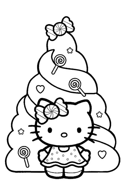 hello kitty holiday coloring pages hello kitty christmas coloring sheets pages coloring holiday hello kitty