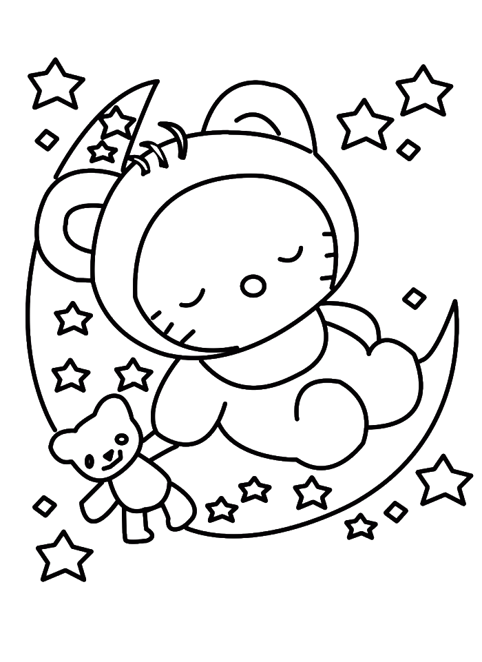 hello kitty holiday coloring pages how to draw a hello kitty coloring home hello holiday coloring kitty pages