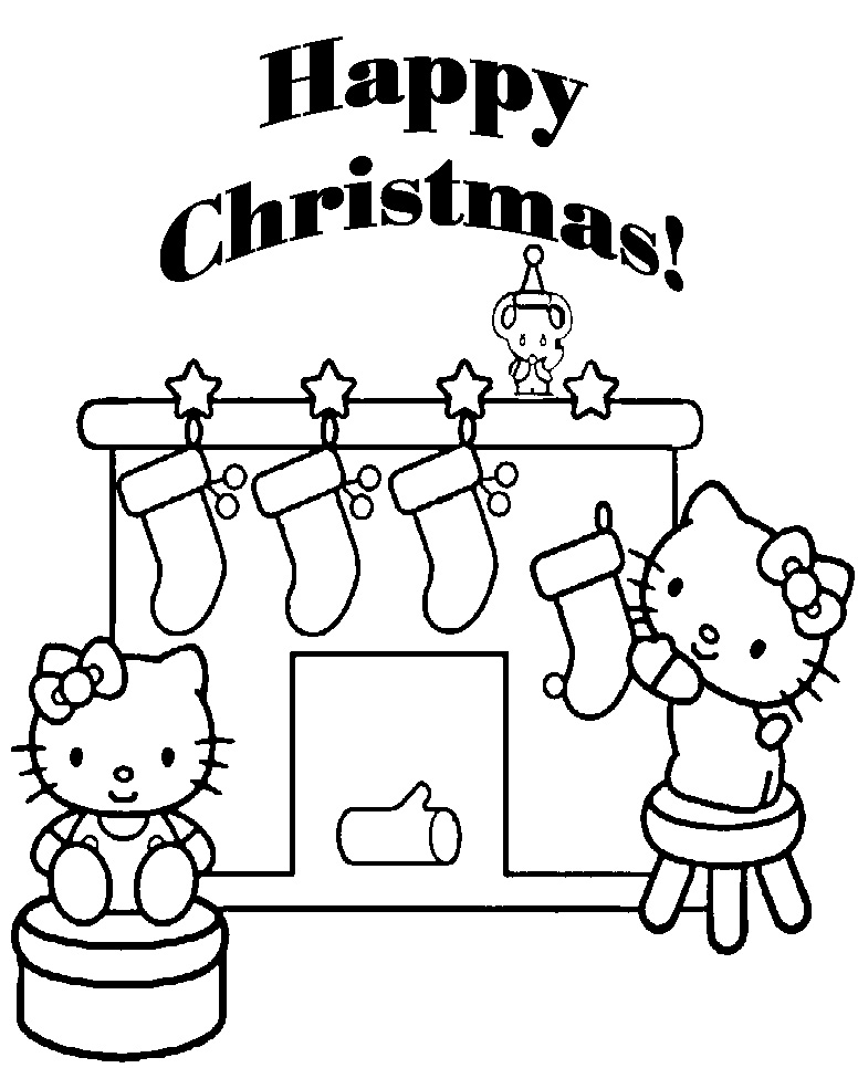 hello kitty holiday coloring pages merry christmas coloring pages hello holiday kitty pages coloring