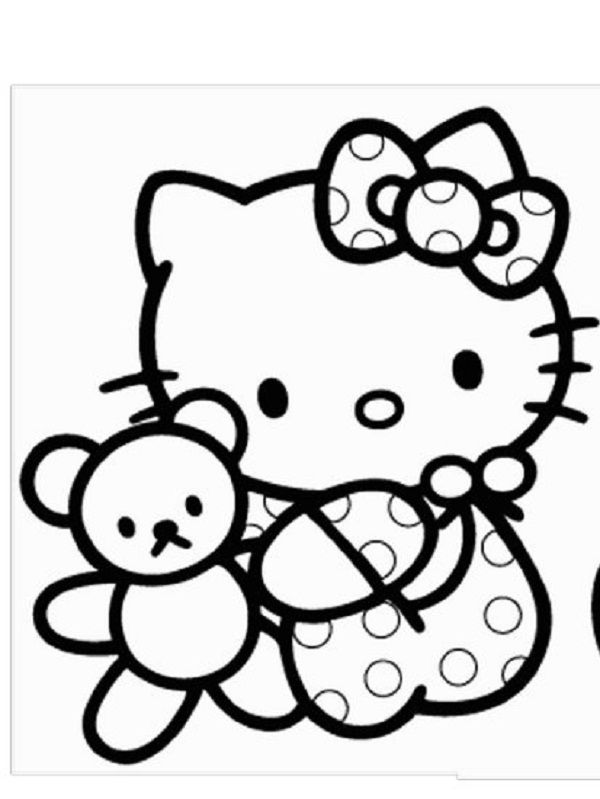 hello kitty pictures to print hello kitty rainbow coloring page free printable lusine pictures to kitty print hello