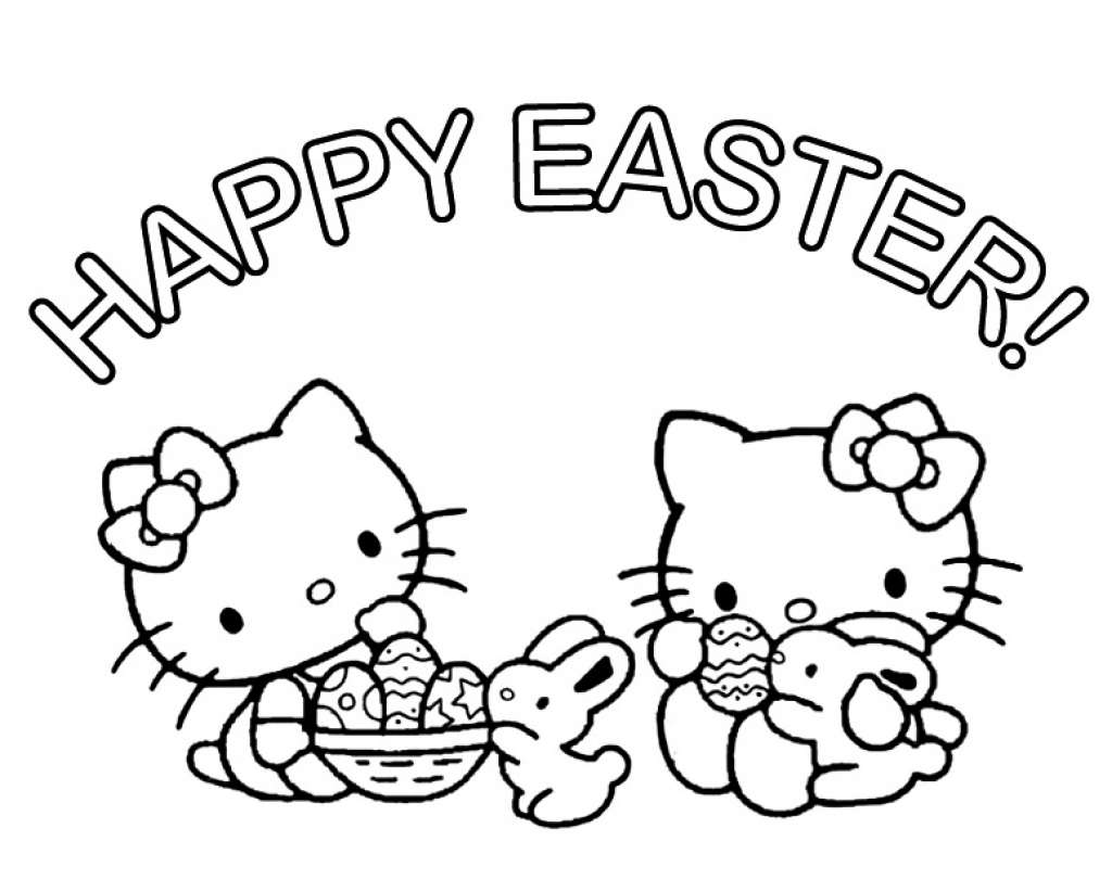 hello kitty spring coloring pages easter coloring pages hello kitty divyajananiorg pages spring hello coloring kitty