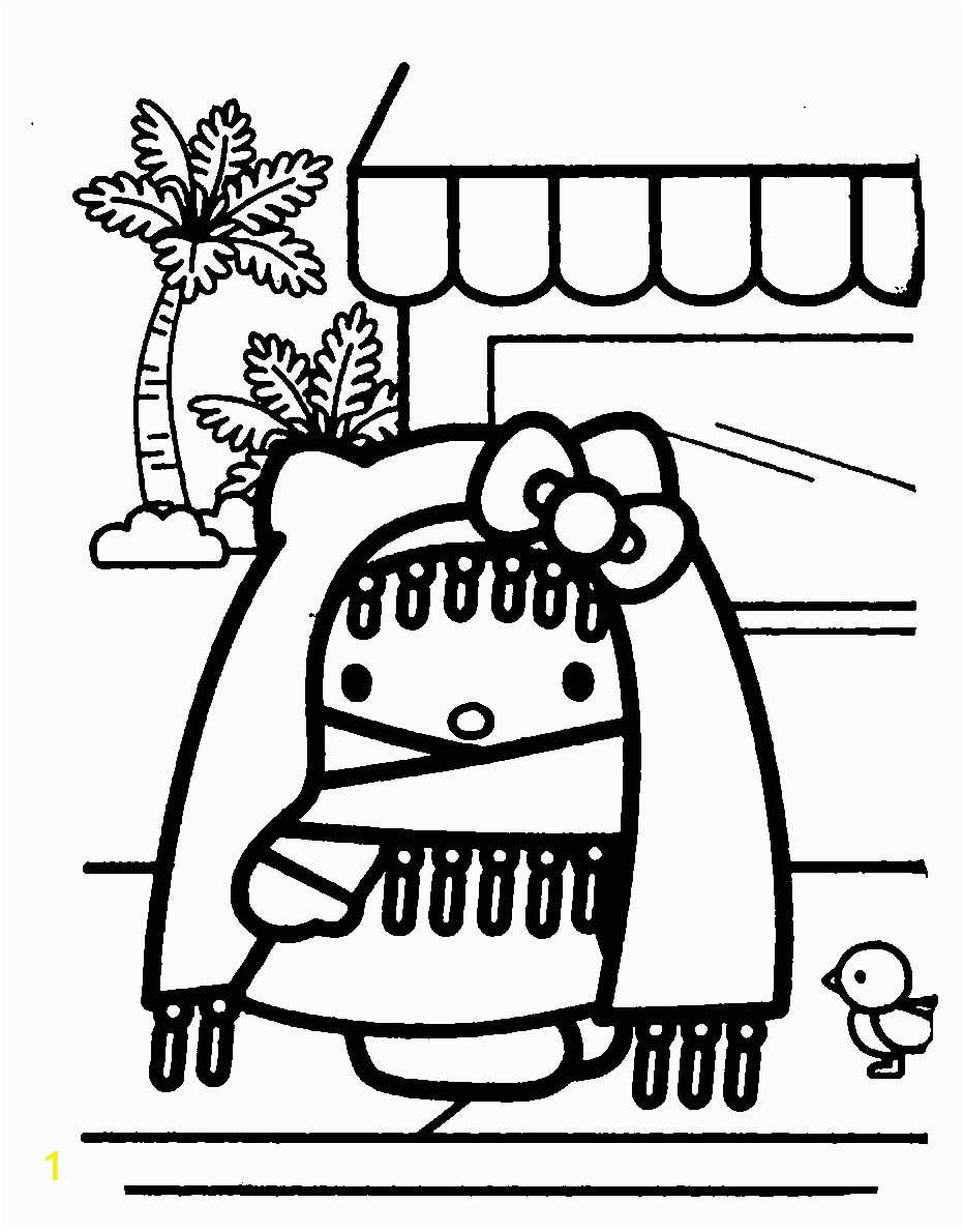 hello kitty spring coloring pages free download hello spring coloring page for kids hello kitty pages spring coloring