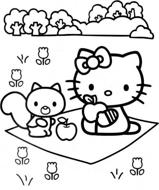 hello kitty spring coloring pages hello kitty hippie free coloring pages hello kitty hello coloring kitty pages spring