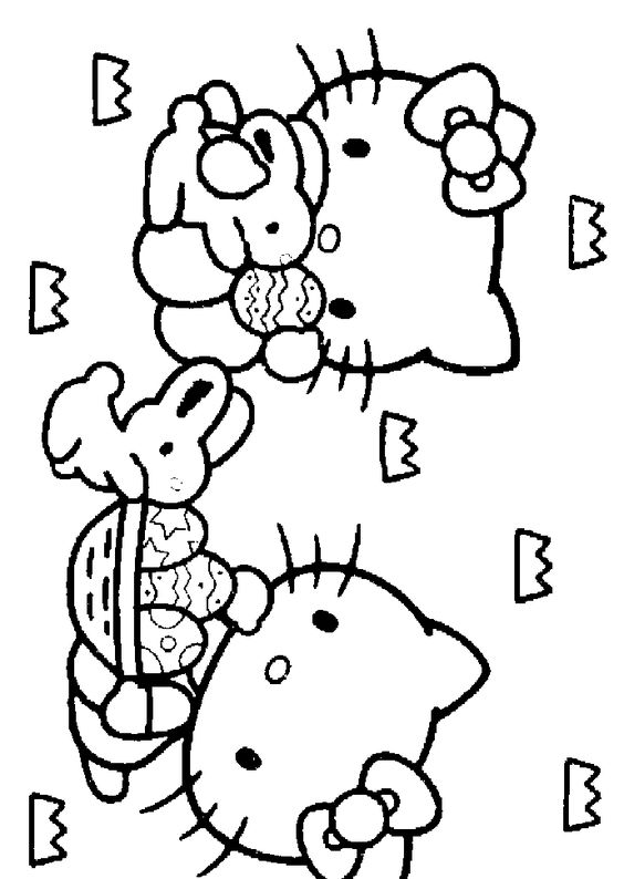 hello kitty spring coloring pages hello kitty in spring colouring pages kittylogo hello hello spring pages coloring kitty