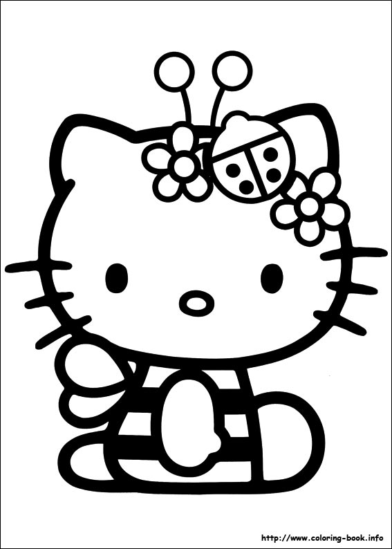 hello kitty summer coloring pages 409 best printables hk images on pinterest hello kitty kitty hello coloring summer pages