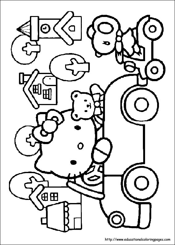 hello kitty summer coloring pages awesome summer games coloring page hello kitty colouring kitty pages summer hello coloring