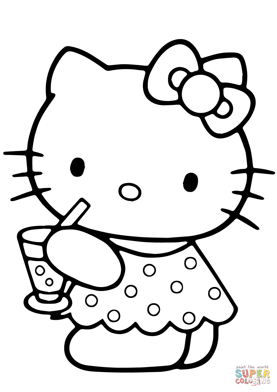 hello kitty summer coloring pages hello kitty at the beach summer coloring picture for pages coloring summer hello kitty