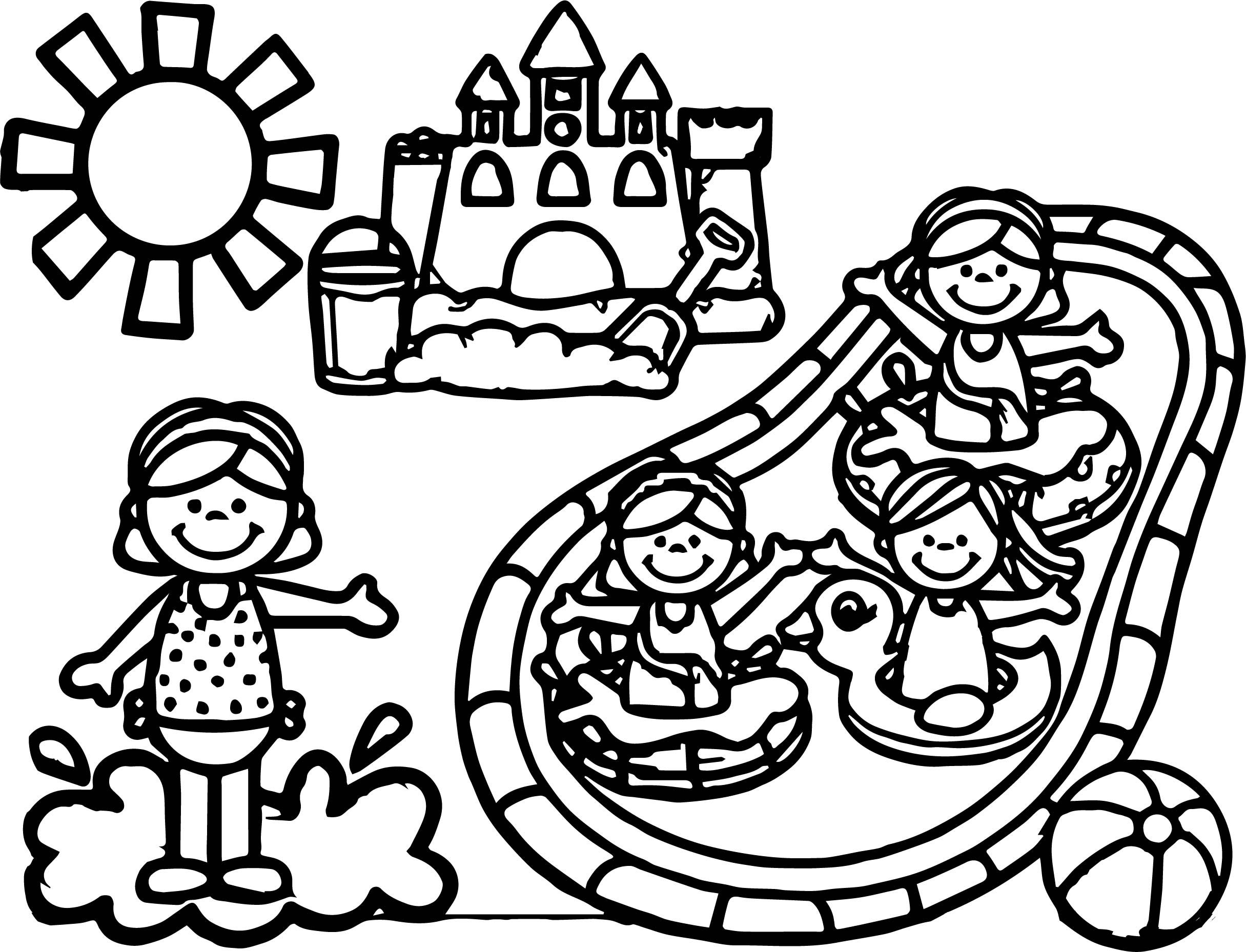 hello kitty summer coloring pages hello kitty beach coloring pages at getcoloringscom pages summer kitty coloring hello