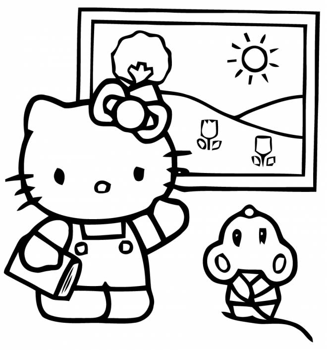 hello kitty summer coloring pages hello kitty summer coloring page coloring page blog summer pages coloring kitty hello