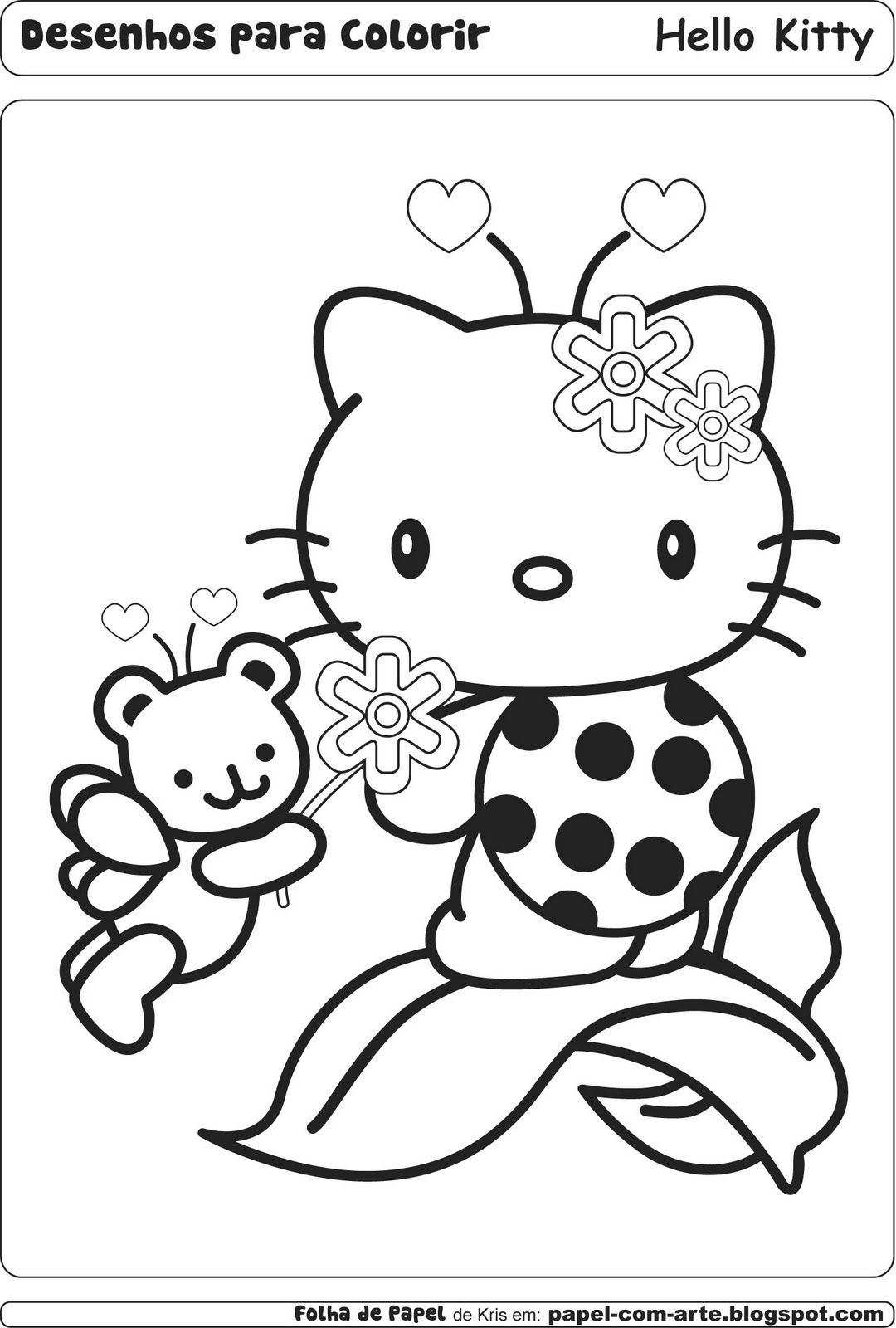 hello kitty summer coloring pages hello kitty summer coloring pages at getdrawings free hello pages summer kitty coloring