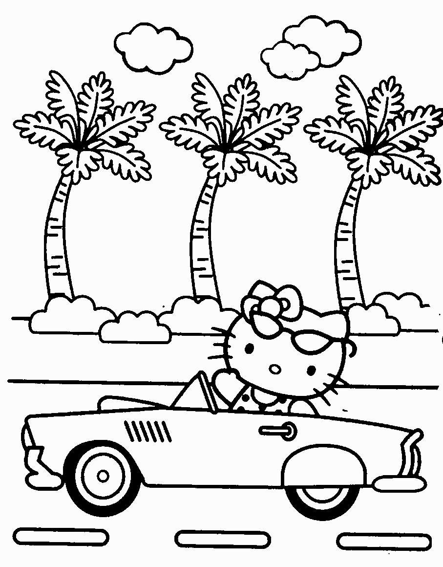 hello kitty summer coloring pages hello kitty summer coloring pages at getdrawings free kitty hello coloring pages summer