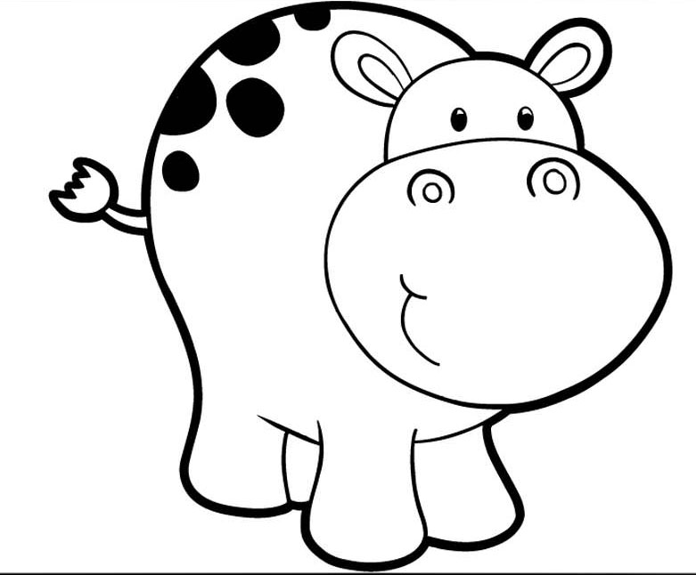 hippopotamus coloring pages kids page cartoon hippo colouringpage 2 coloring pages coloring hippopotamus pages