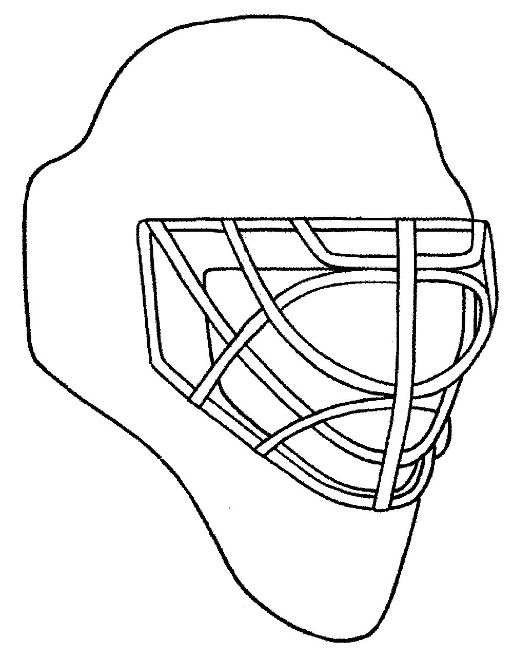 hockey goalie mask coloring pages coloring pages hockey goalie masks get coloring pages coloring hockey mask goalie pages