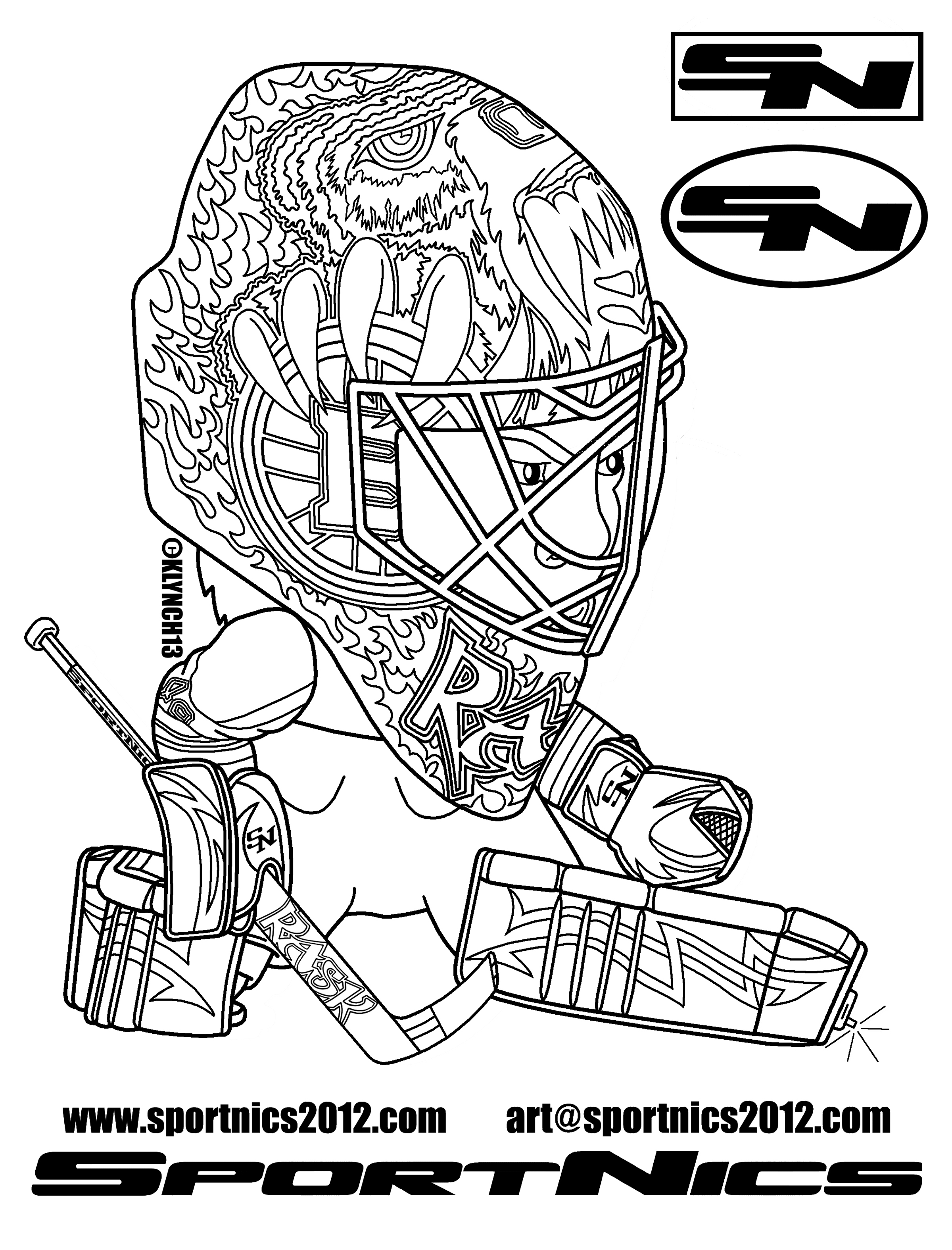 hockey goalie mask coloring pages hockey goalie drawing at getdrawings free download pages goalie mask coloring hockey