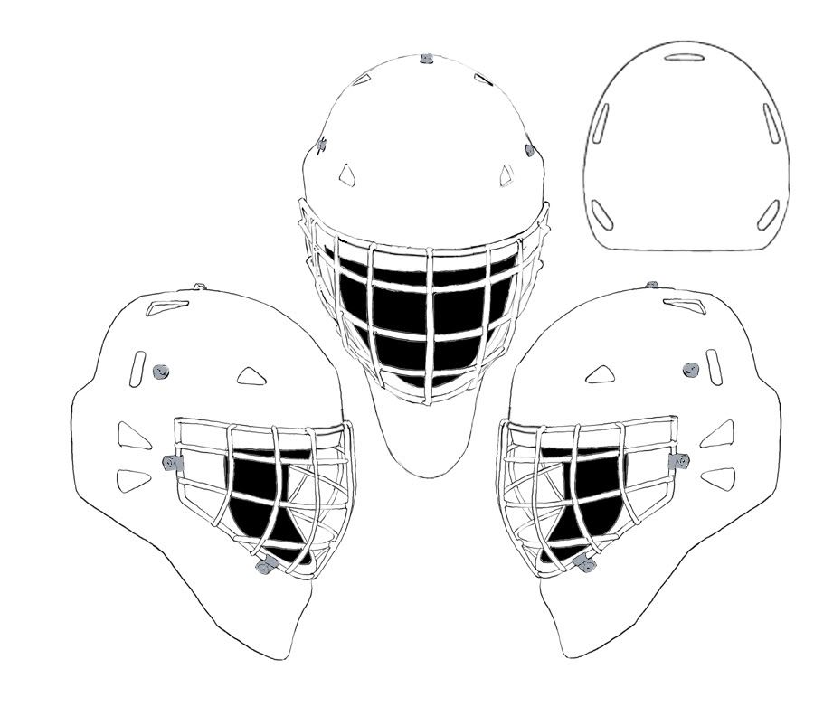 hockey goalie mask coloring pages hockey goalie mask coloring recherche google coloriage goalie pages mask hockey coloring