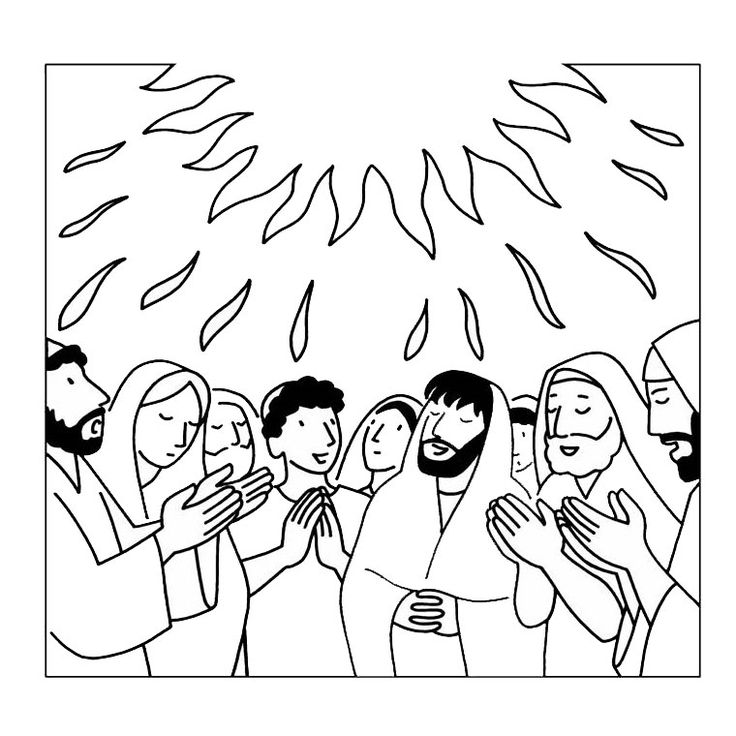 holy spirit coloring page celebrating the holy spirit holy coloring page spirit