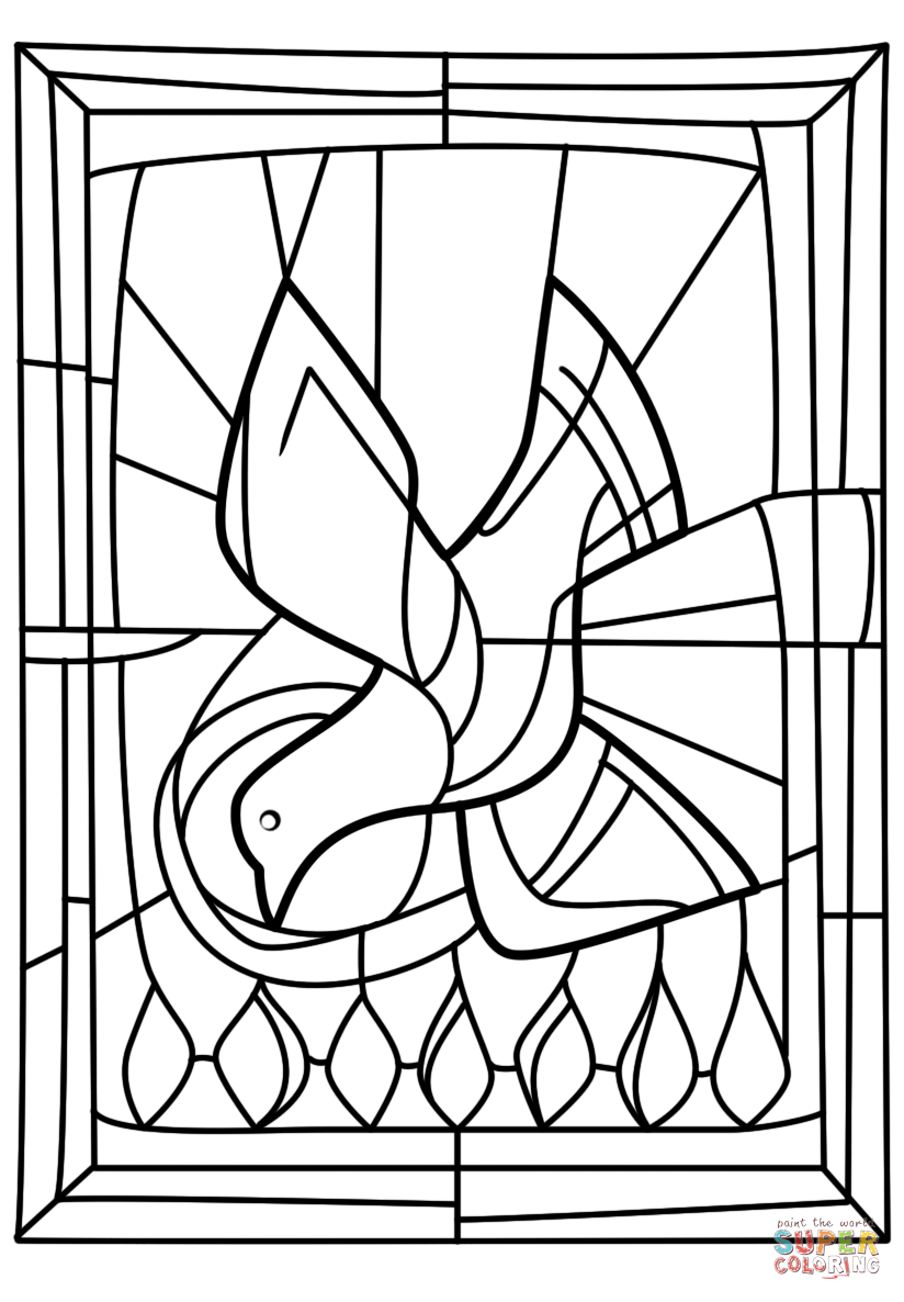 holy spirit coloring page descent of the holy spirit at pentecost coloring page page coloring holy spirit