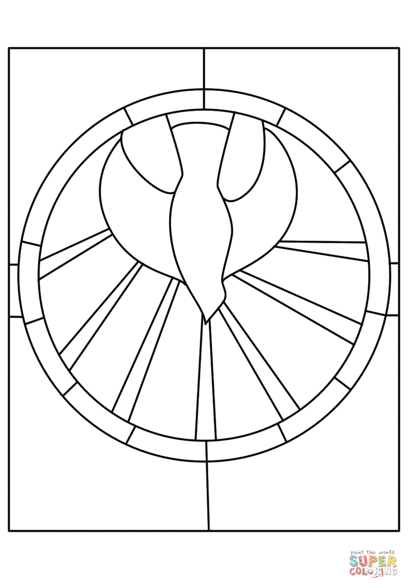 holy spirit coloring page descent of the holy spirit coloring page pentecôte spirit holy page coloring