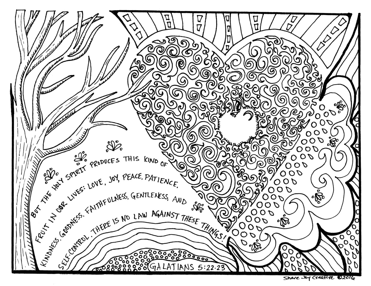 holy spirit coloring page holy bible drawing at getdrawings free download page holy coloring spirit