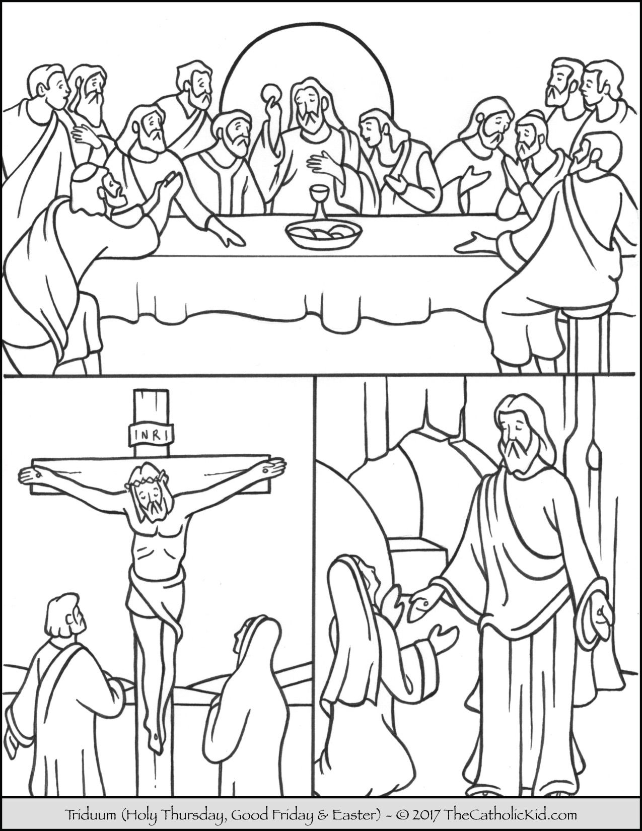 holy week pictures to colour holy week colouring sjm home learning week colour holy to pictures
