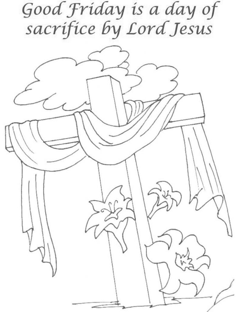 holy week pictures to colour holy week days cross coloring page holy week activities pictures holy week to colour