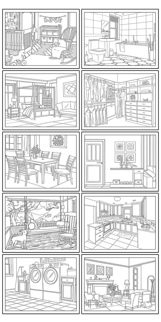 home coloring image 10 free printable house coloring pages beautiful home image home coloring