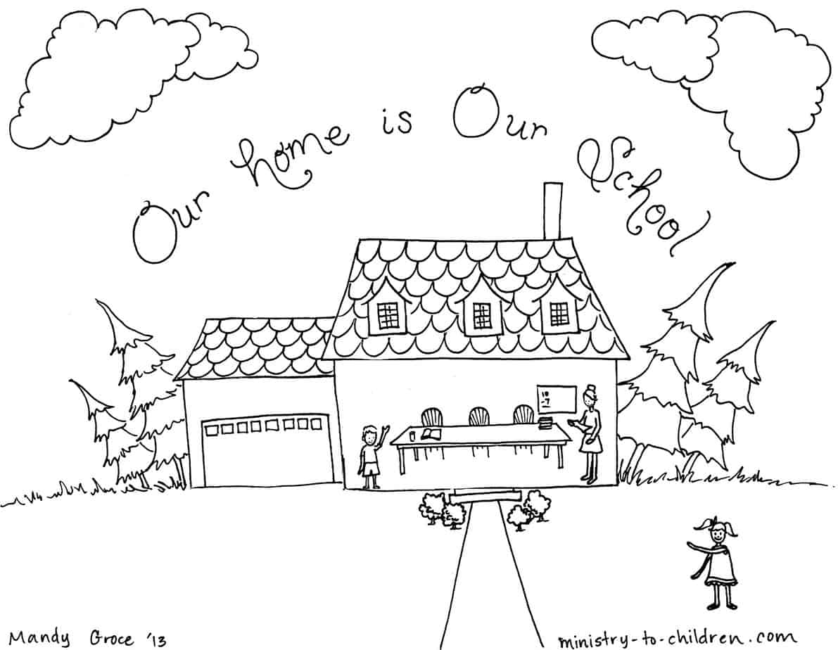 home coloring image homeschool coloring page ministry to children home image coloring
