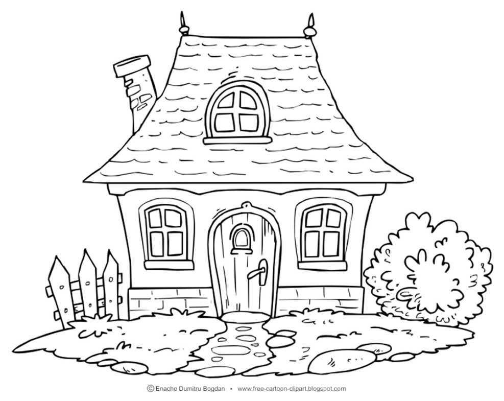 home coloring image house color clipart 20 free cliparts download images on coloring home image