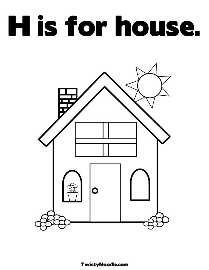 home coloring image house coloring pages to download and print for free home image coloring