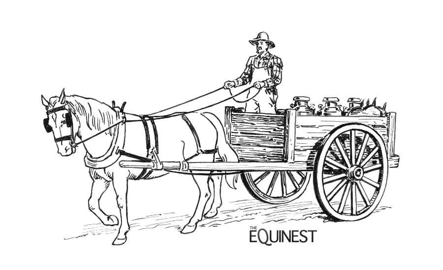 horse and buggy coloring pages coloriage de la ferme clip art library horse coloring buggy pages and