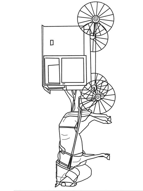 horse and buggy coloring pages colouring page horse and buggy coloringpageca buggy coloring pages and horse