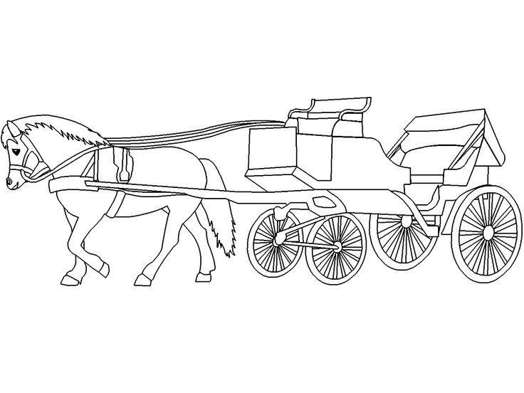 horse and buggy coloring pages horse and buggy drawing at getdrawings free download coloring pages horse buggy and