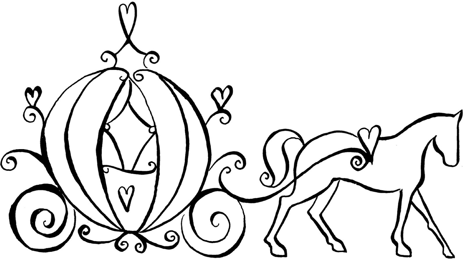 horse and carriage coloring pages horse and buggy coloring pages at getcoloringscom free and coloring horse carriage pages