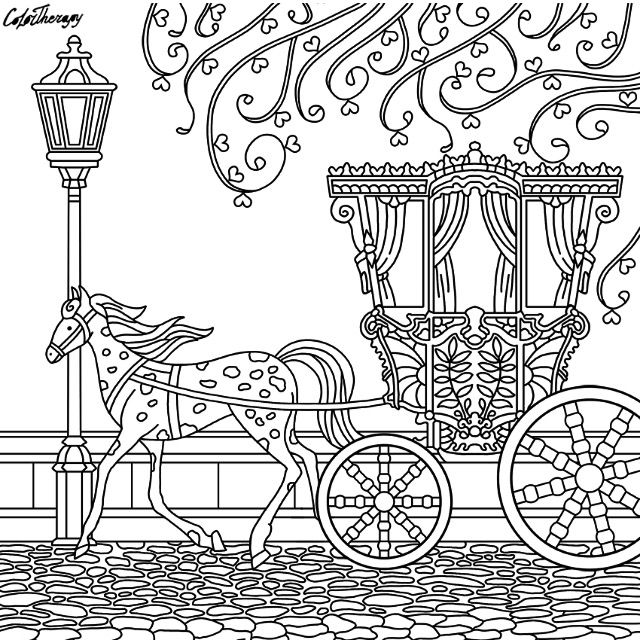 horse and carriage coloring pages horse and carriage coloring page cute coloring pages pages coloring carriage horse and